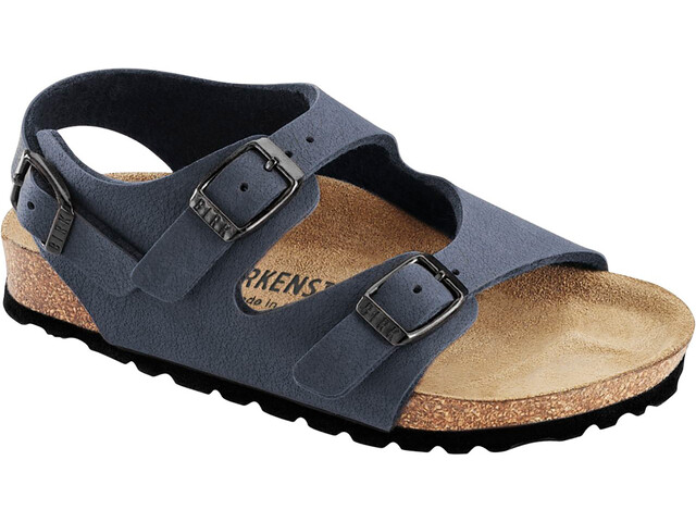 Birkenstock Roma Sandals Birko-Flor Birkibuc Narrow Kids, navy